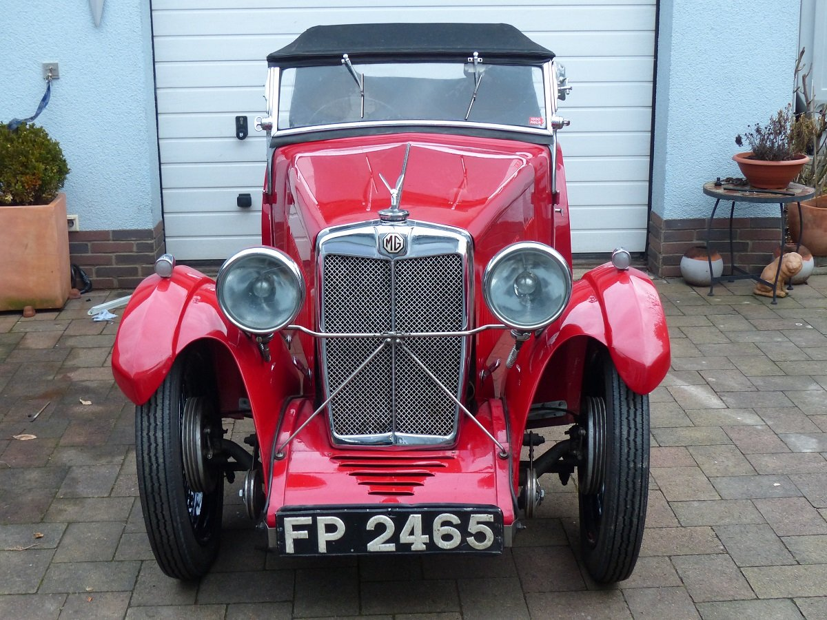 Mg F1 Magna 4 seater roadster ex salonette 1931 For Sale (picture 1 of 6)