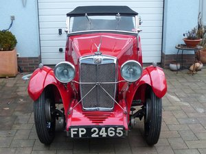 Mg F1 Magna 4 seater roadster ex salonette 1931 For Sale