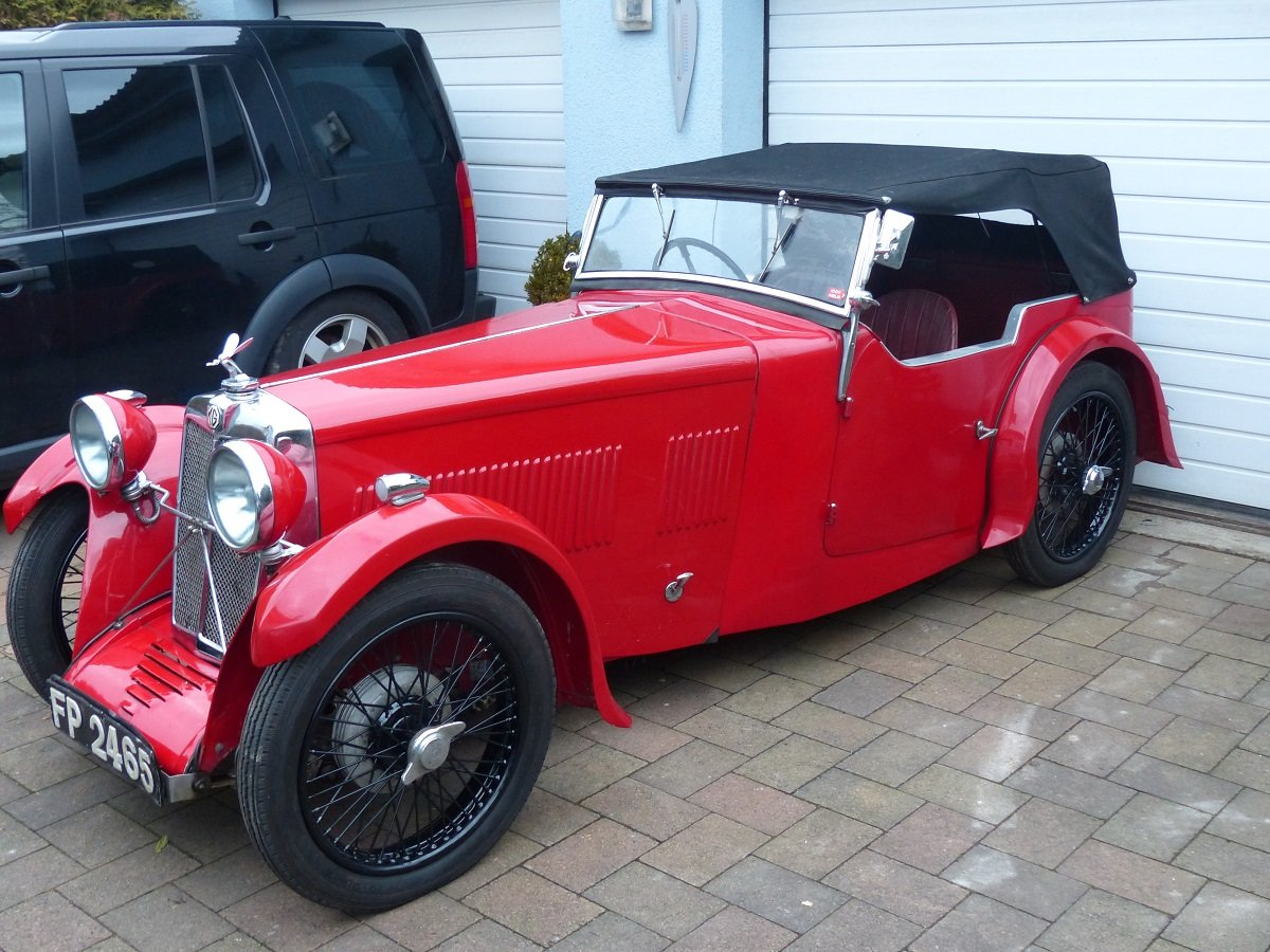 Mg F1 Magna 4 seater roadster ex salonette 1931 For Sale (picture 2 of 6)