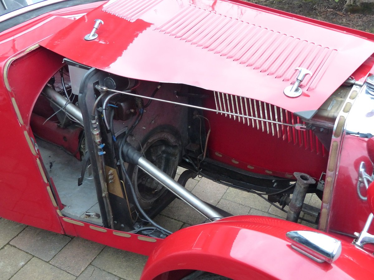Mg F1 Magna 4 seater roadster ex salonette 1931 For Sale (picture 5 of 6)