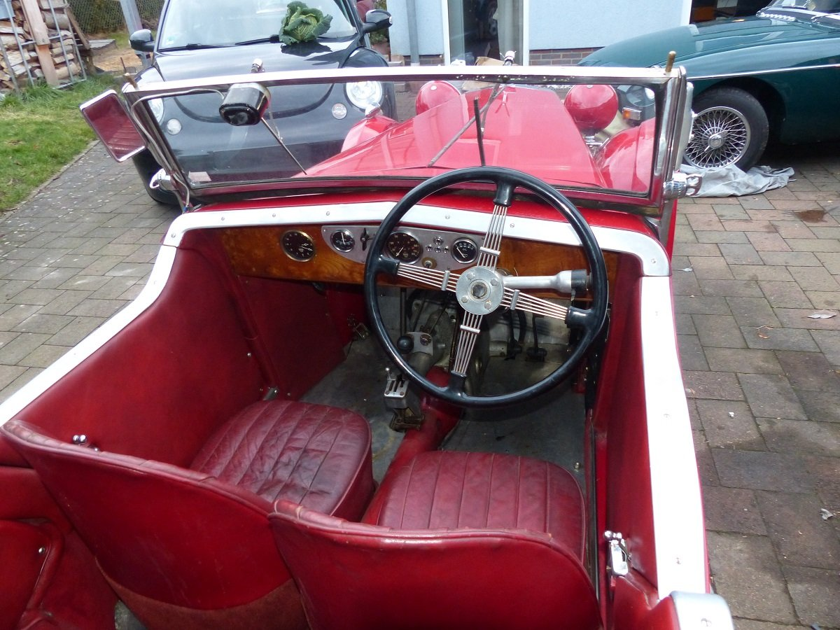 Mg F1 Magna 4 seater roadster ex salonette 1931 For Sale (picture 6 of 6)