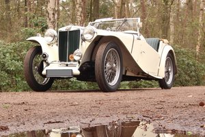 1947 Good running MG TC in restored condition For Sale