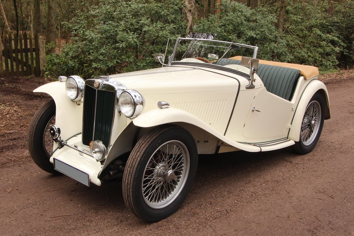 1947 Good running MG TC in restored condition For Sale (picture 2 of 6)