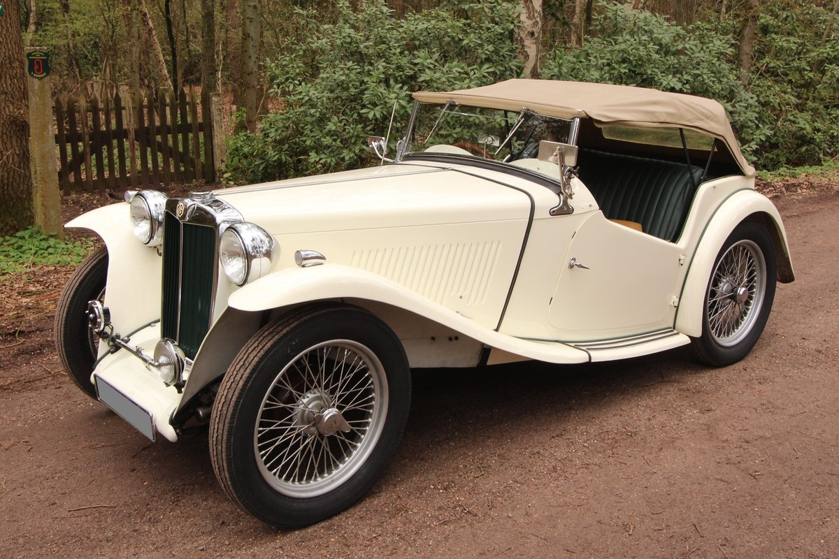 1947 Good running MG TC in restored condition For Sale (picture 3 of 6)