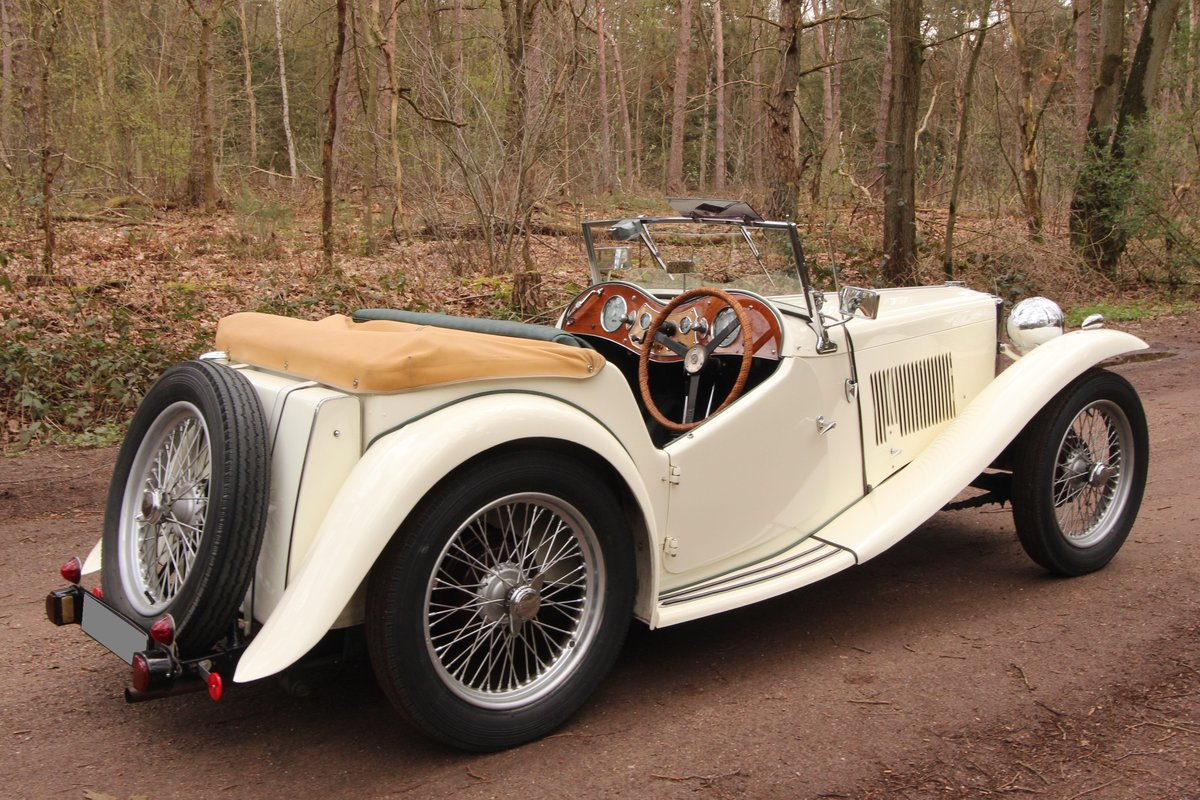 1947 Good running MG TC in restored condition For Sale (picture 4 of 6)