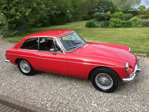 MG B GT, 1967,Mk1, Chrome Bumpers, Wire Wheels,O/D For Sale