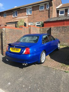 2001 MG ZT STUNNING CAR THROUGHOUT