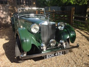 1939 MG VA TOURER SOLD