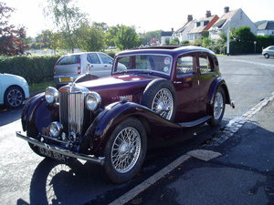 1936 MG VA Saloon For Sale
