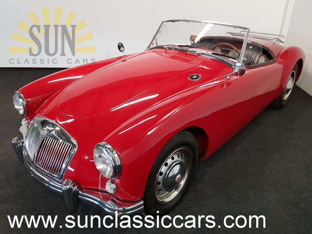 MGA 1500 cabriolet 1957, leather seats For Sale (picture 1 of 6)