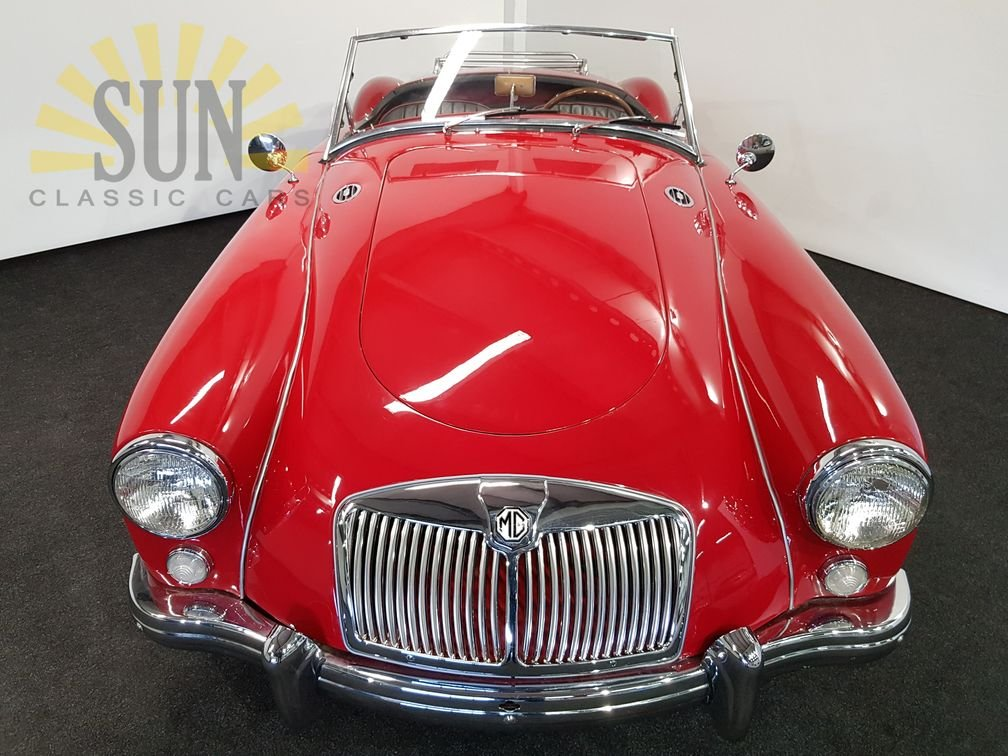 MGA 1500 cabriolet 1957, leather seats For Sale (picture 2 of 6)
