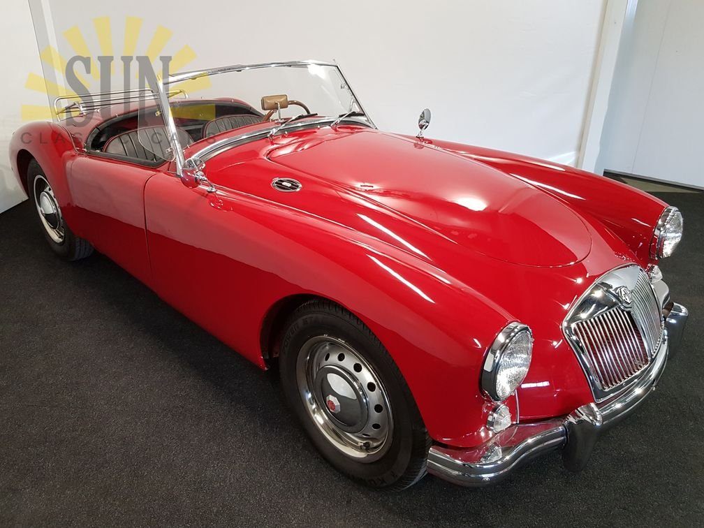 MGA 1500 cabriolet 1957, leather seats For Sale (picture 3 of 6)