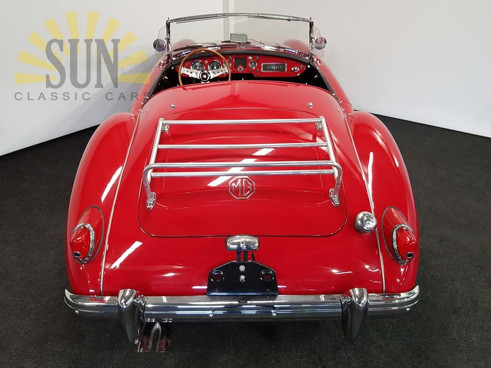 MGA 1500 cabriolet 1957, leather seats For Sale (picture 5 of 6)