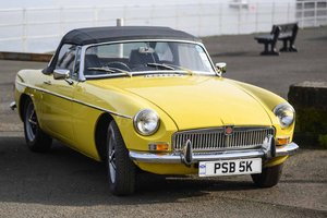 1972 MGB Roadster at McTears Auctioneers For Sale by Auction