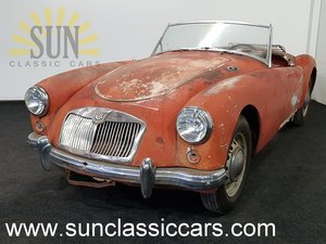 MGA 1959, very good basis for restoration For Sale