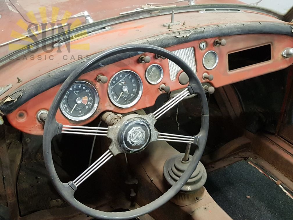 MGA 1959, very good basis for restoration For Sale (picture 5 of 6)