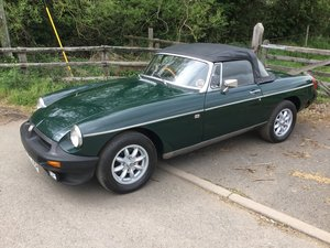1975 MGB Roadster For Sale by Auction