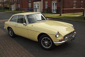 1968 Mk2 MGB GT -Primrose Yellow, Older Resto - MGBGT MG BGT For Sale