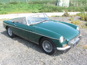 1966 MGB Roadster with Overdrive  For Sale