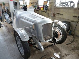 1938 MG TA Pointed-Tale Special Project