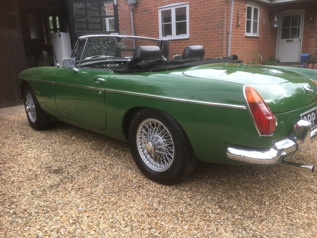 1970 MGB Roadster SOLD (picture 3 of 6)