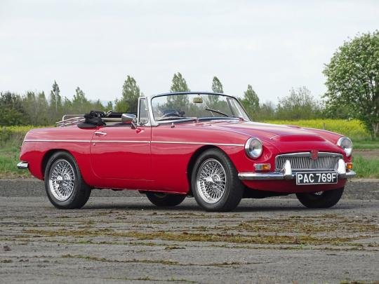 1968 MG C Roadster For Sale by Auction (picture 1 of 1)