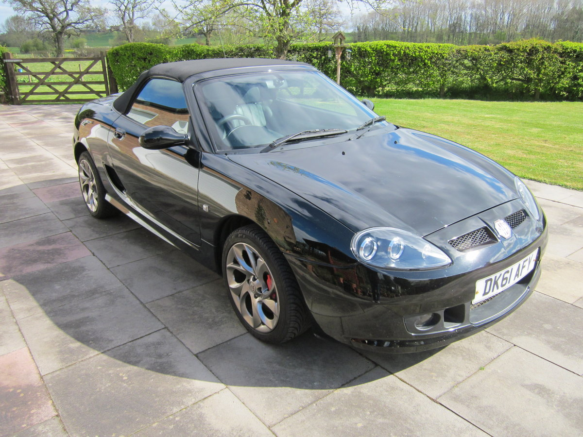 For Sale 2011 (61) MG TF 135 Raven Black For Sale (picture 1 of 5)