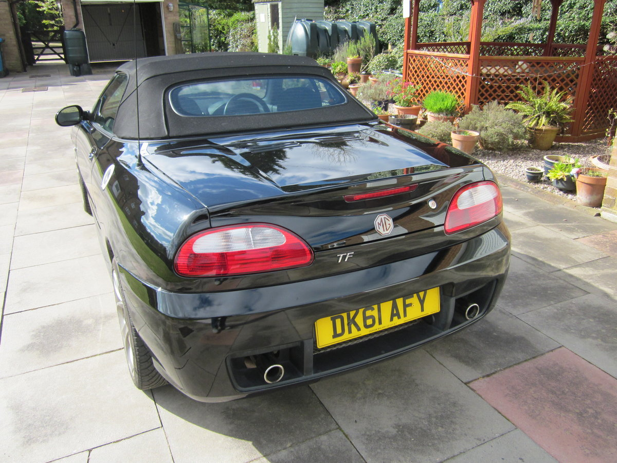 For Sale 2011 (61) MG TF 135 Raven Black For Sale (picture 3 of 5)
