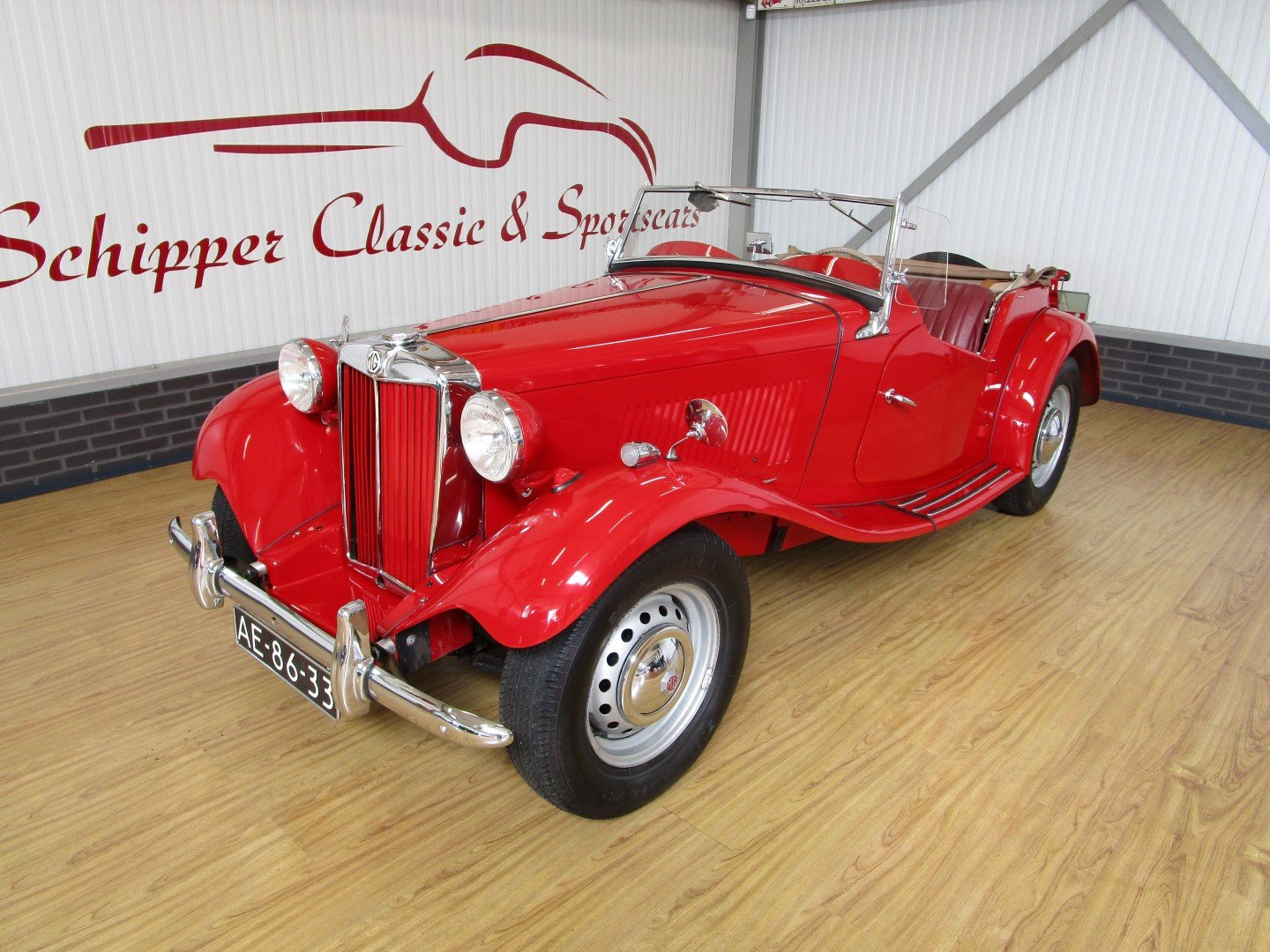 1952 MG TD Roadster For Sale (picture 1 of 6)