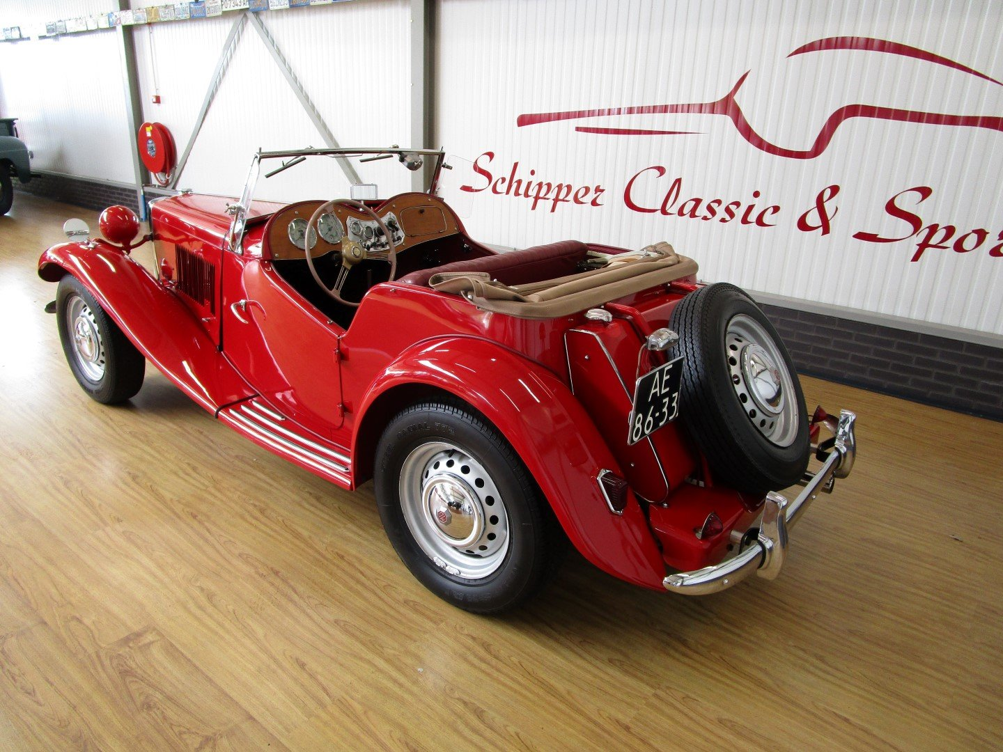 1952 MG TD Roadster For Sale (picture 3 of 6)