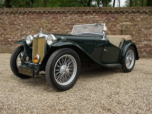 1937 MG TA fully restored condition, well documented For Sale