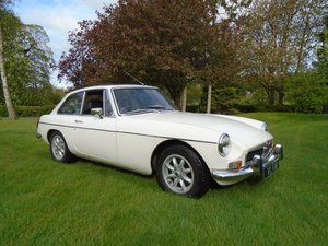 1974 MGB GT with Overdrive  SOLD