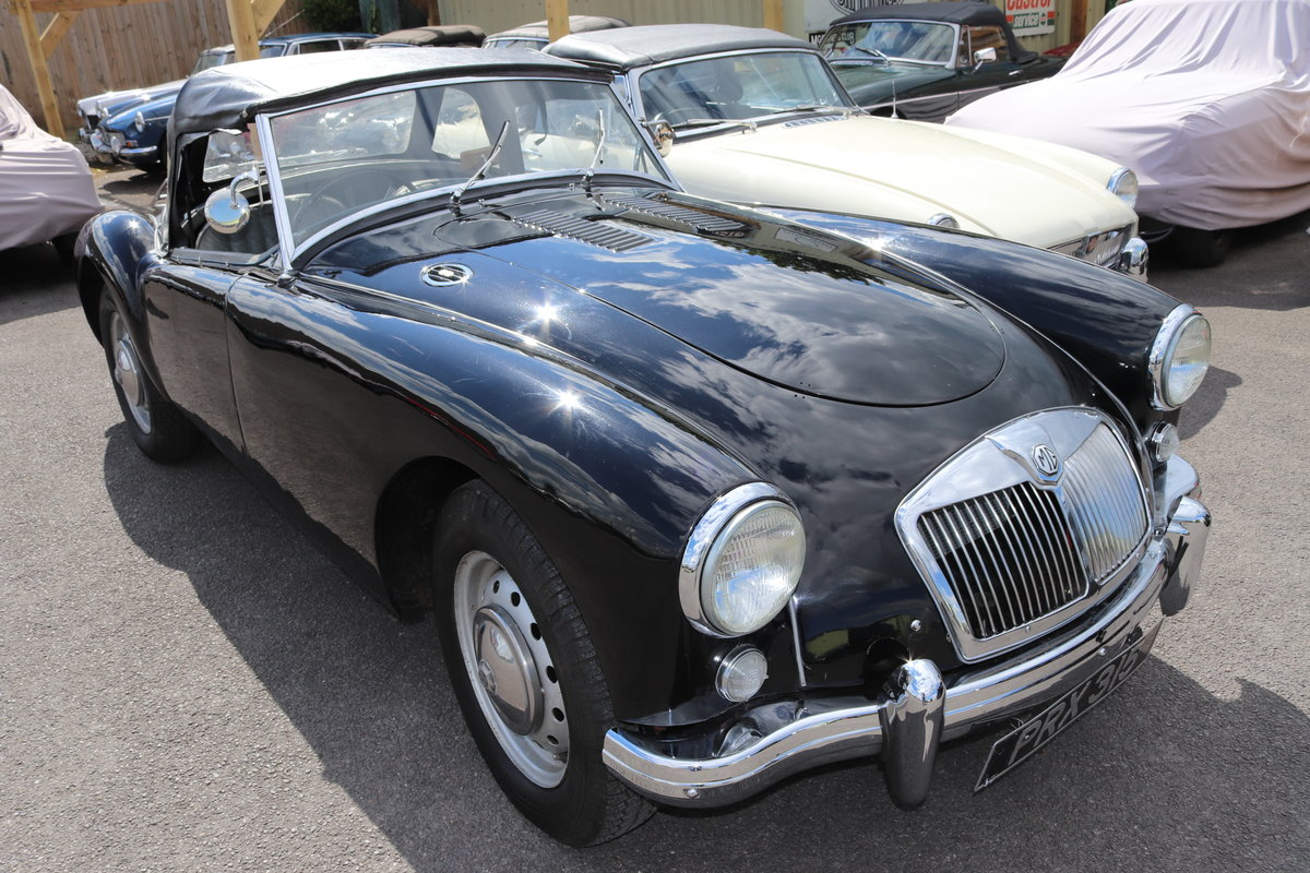 1957 MGA Roadster 1500, UK Car, 5 Speed For Sale (picture 1 of 4)
