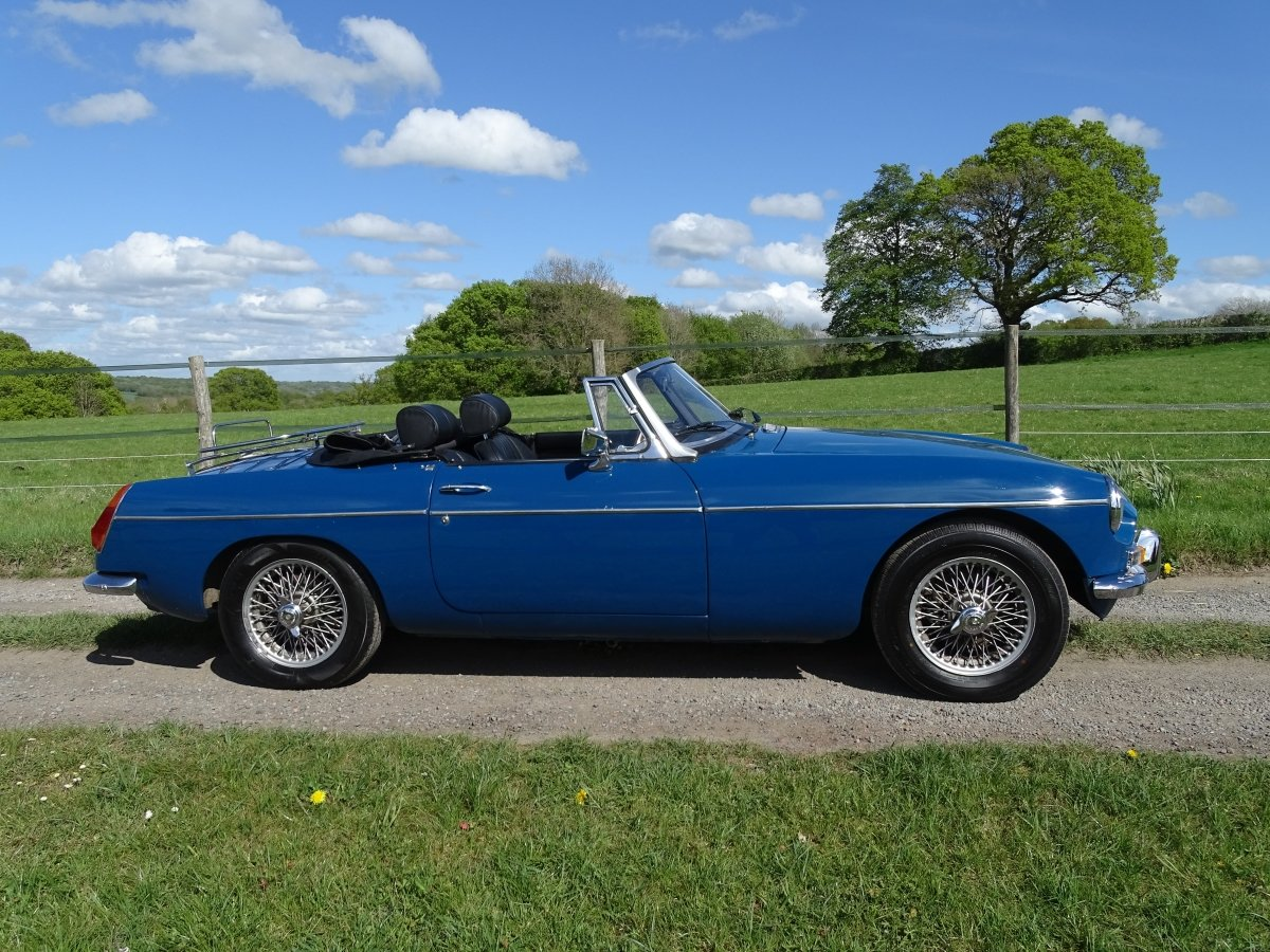 1970 Lovely original MGB Roadster, overdrive, last owner 20 years SOLD (picture 1 of 6)