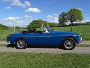 1970 Lovely original MGB Roadster, overdrive, last owner 20 years SOLD