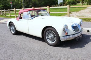 1959 MGA 1600 cc Roadster Original RHD  Beautiful SOLD