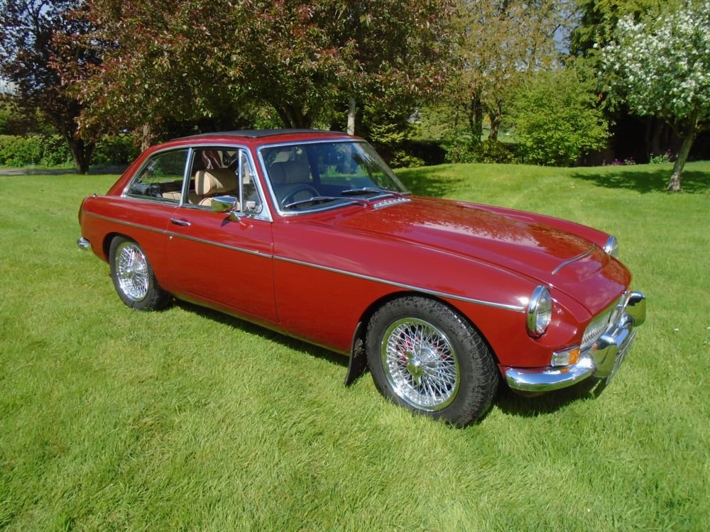 1969 MGC GT with Overdrive  SOLD (picture 1 of 6)