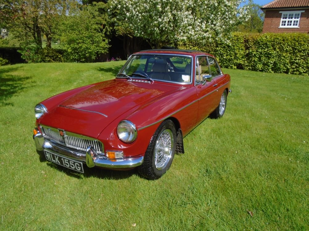 1969 MGC GT with Overdrive  SOLD (picture 2 of 6)