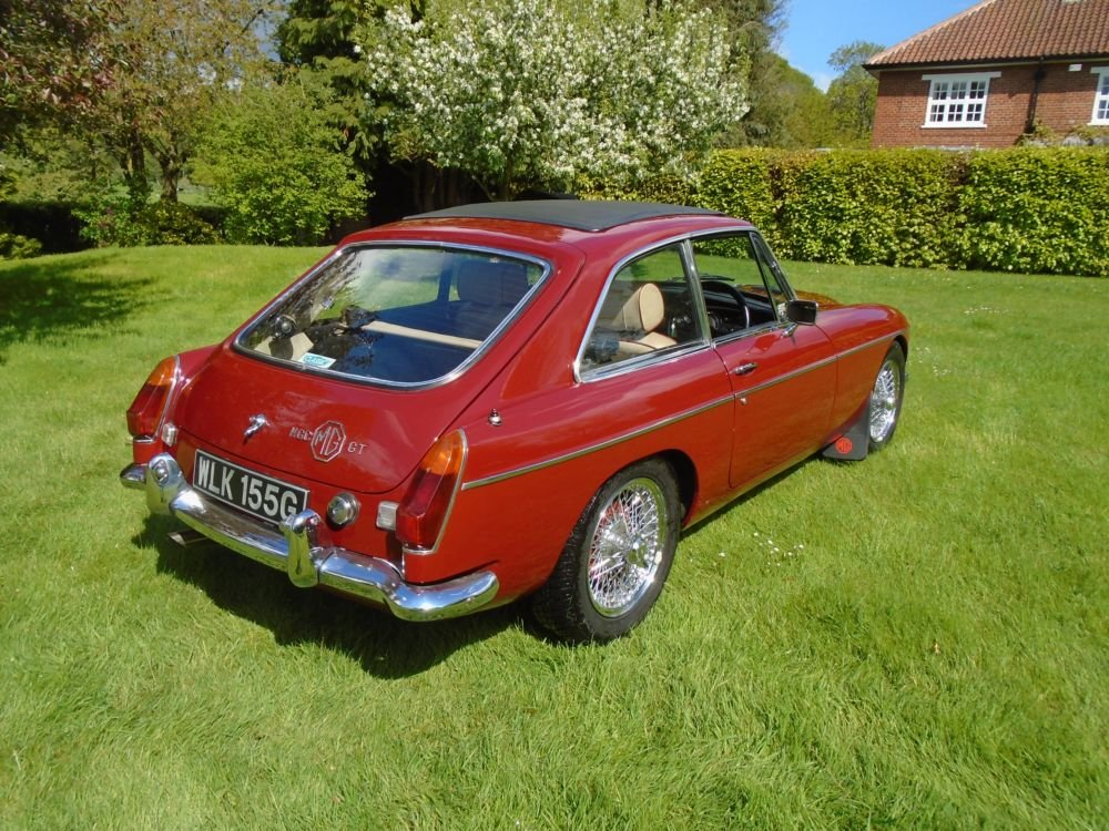 1969 MGC GT with Overdrive  SOLD (picture 3 of 6)