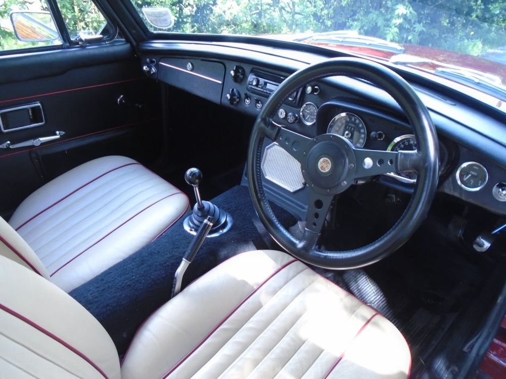 1969 MGC GT with Overdrive  SOLD (picture 4 of 6)