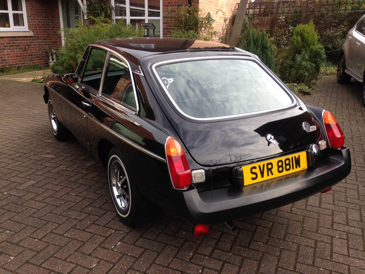 1980 Superb as new MGB GT consider interesting exchange For Sale (picture 6 of 6)