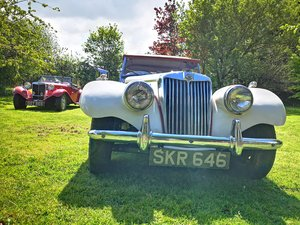 1954 MG TF EX POLICE, 1250cc, Old English White For Sale