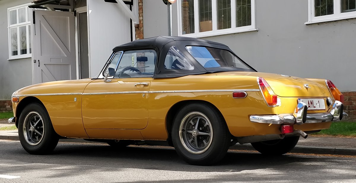 1973 MG B MGB Roadster Convertible SORRY NOW SOLD For Sale (picture 1 of 6)