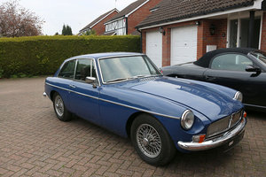 MGB GT MK1 1966 Mineral Blue Coachwork, Wire Wheels For Sale