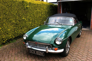 MGB Roadster 1970, B.R.G, Wire Wheels For Sale