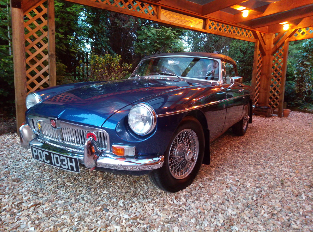1969 MGB ROASTER IMMACULATE  EXAMPLE  For Sale (picture 6 of 6)