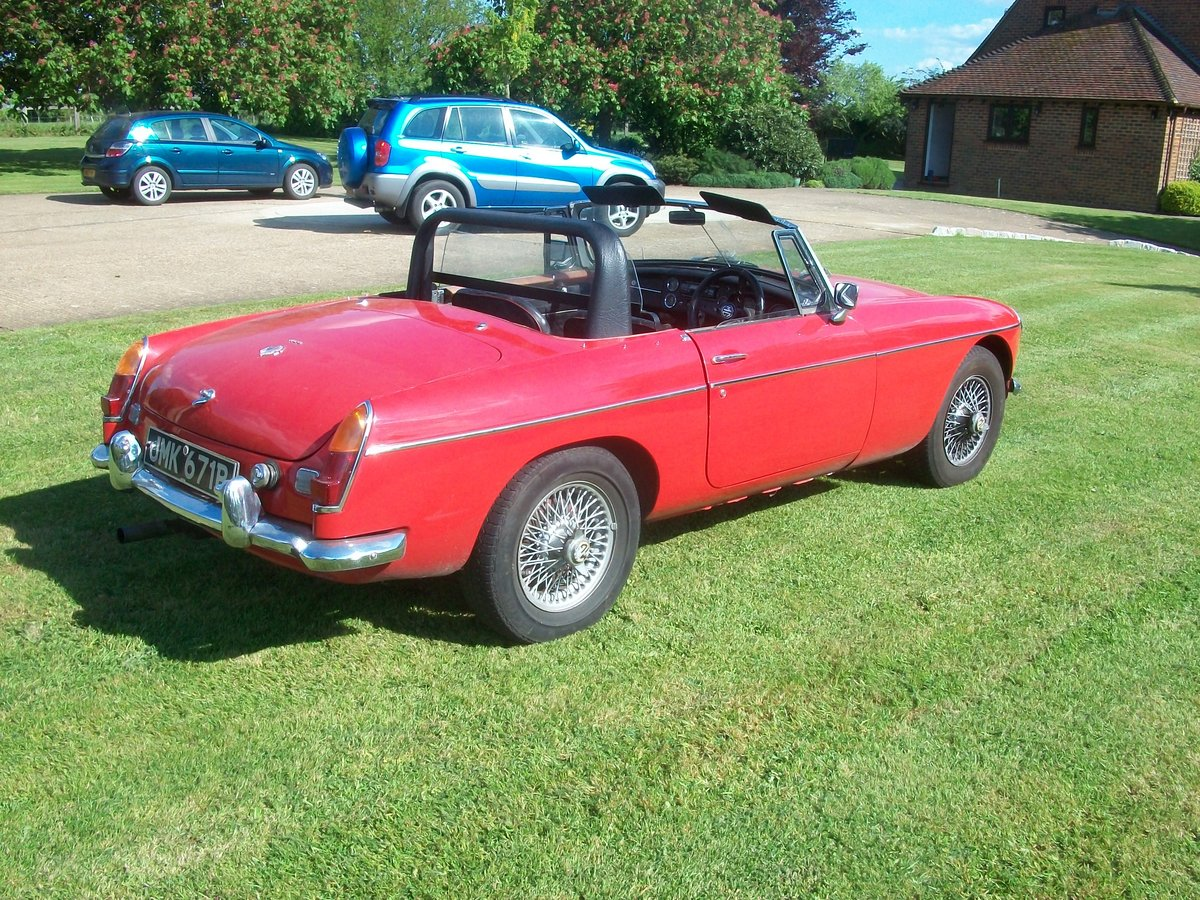 1964 MG Roadster  SOLD (picture 3 of 6)