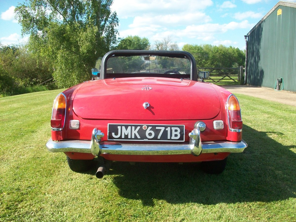 1964 MG Roadster  SOLD (picture 5 of 6)