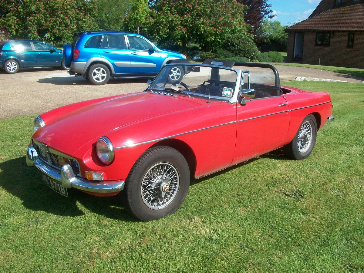 1964 MG Roadster  SOLD (picture 6 of 6)