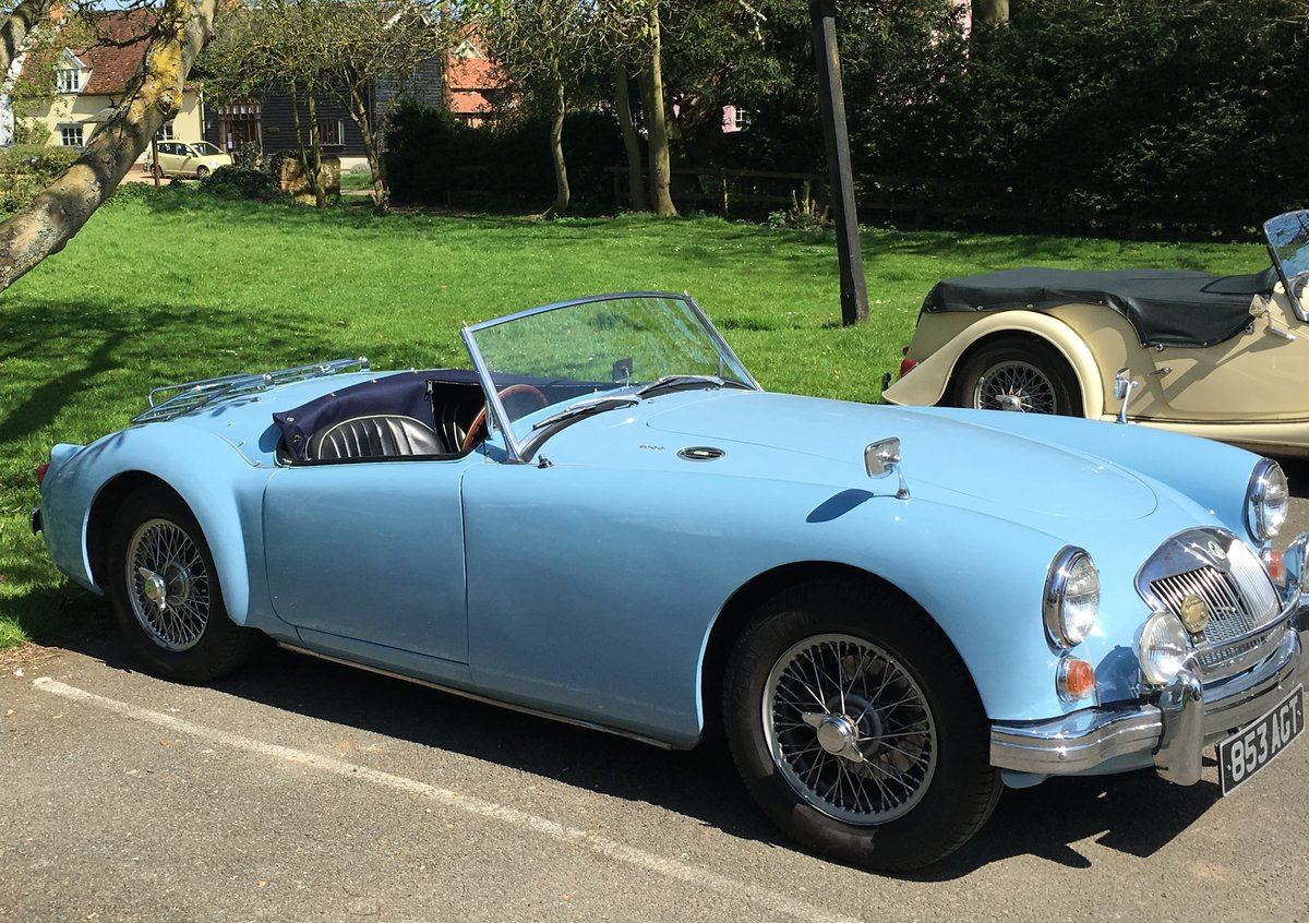 1960 1600 MGA Mk1 Roadster For Sale (picture 1 of 5)